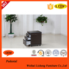 Beautiful color Mobile file Cabinet with three door under desk