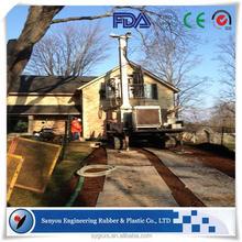 oil industry mat/hdpe grass protector mats/heavy-duty road mats