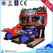 Hot and popular racing car game machine motorcycle for sale