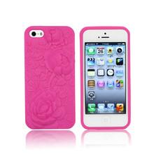 de silicona caso para iphone 5