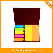 Onzing new bulk sticky note with clip in the plastic box