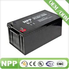 12V 200AH Made In China Maintenance Free Solar Gel Battery