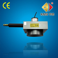 KS80 long stroke cable length displacement counter, 4000mm linear displacement sensor,wire length measuring device