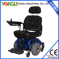 Dual motor automatic blue wheelchair aluminum wheelchair scooter