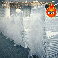 Black and white chair covers and spandex folding chair cover
