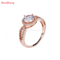 wholesale american diamond jewelry 925 silver latest gold plated ring designs for girls