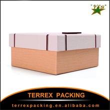 Custom Handmade Storage packaging cardboard box with logo