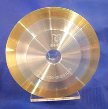 Metal bond diamond glass grinding polishing wheel