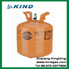 6kg disposable cylinder isobutane hydrocarbon gas Refrigerant R600A