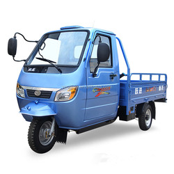 3 wheel cargo motorcycle with cabin