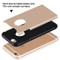 2015 Newly Designed Slim fit, lightweight two layers case cover for iphone6s+iphone6s plus