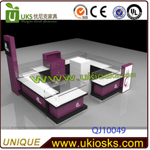 12x10ft jewelry display cases for sale,glass jewelry display table,led lighting for display cases for jewelry