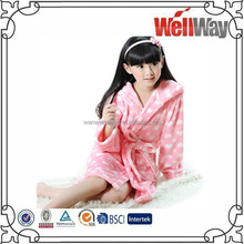 Fall Winter Collection cute flannel nightgown bathrobe children pajamas
