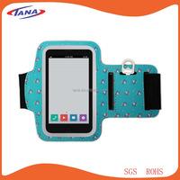 Sportswear elastic fabric neoprene sport armband cover case holder for iphone