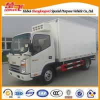 120HP JAC 4*2 6ton freezer truck,light freezer trucks for sale