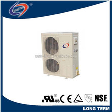 monoblock integrated side hermetic box type air cooled outdoor condensing unit for cold room / XJQ box type copeland condensing