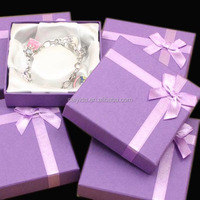 Cheap cute paper jewelry gift box