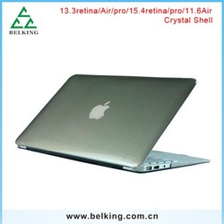 "Laptop matte/clear case for Macbook / back cover case for Macbook retina air pro 11.6"" 13.3"" 15.4"""