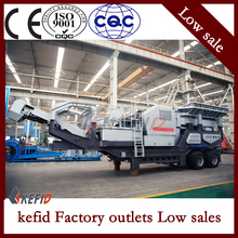 Hot sale Coal ash protable crushing equipment , portable crusher/mobile crusher machine images from torrent