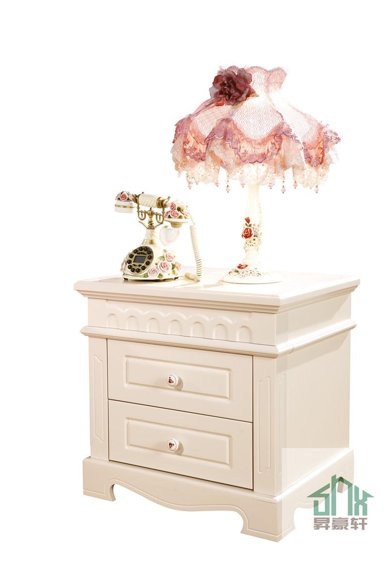 Blanco antiguo muebles de dormitorio HA-907 # mesita de noche barato ...