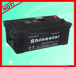 Guangzhou long life 12 Volt 200AH battery car battery manufacturers With Best Factory price