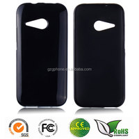 Clear TPU back cover case for HTC M8 mini