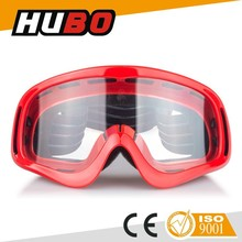 HUBO hot sale motorcycle racing sports clear lens anti fog motocross google
