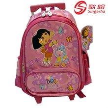 2012 dora brand school bags with trolley