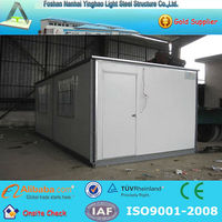 disposable food container restaurant modular shipping container restaurant