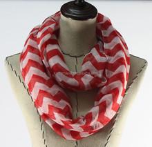 2015 new fashion wholesale stripe tube scarf