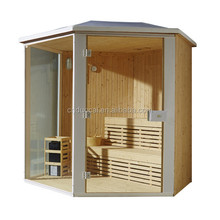 Glass Wall Outdoor Portable Sauna Room House (GS-M6012)