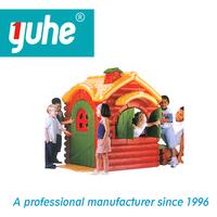 Kindergarten outdoor children plastic play house