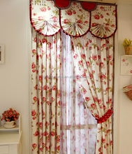 Garden curtain good quality curtain Printed blind curtain