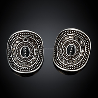 Fashion latest Zinc alloy unique stud earrings