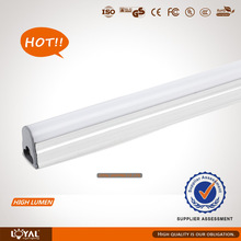 LED T5Tube light 600mm 2ft 8w Intergrated Fixture 80lm/w CE ROHS approved