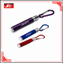 cute fasion led flashlight keychain for gift