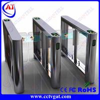 RFID card reader swing barrier gate,stainless steel security swing gate,Hidden Gate Turnstile