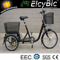 2015 Elon 250W 36V 10AH Lithium battery 3 wheel tricycle electrical(E-TDR04)