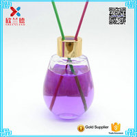 120ml Hot Sale oval ball shaped aroma reed diffuser bottle