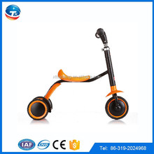 2014 new cheap wholesale best christmas gifts 3 wheel foot pedal foldable kids scooter/three wheel kids scooter