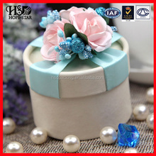 Luxury Candy box Wedding favors / gifts Packaging fancy box/Round Shape paper Boxes