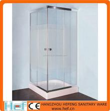 HEF Corner Entry Alum Frame Enclosed Shower Cubicle