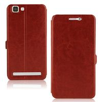 Crazy Horse Texture Wallet Flip Leather Case for BBK Vivo x5max with Holder