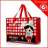 BOPP laminated pp woven carton shopping bags