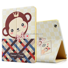 Cover Cartoon Pattern Leather for ipad 3 case