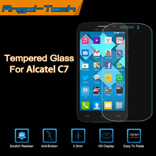Tempered glass screen protector for alcatel pop c7