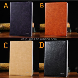 New Products Foldable Stand Flip Leather Case for iPad 5/iPad Air