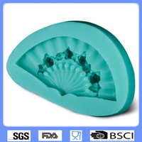 New hot-selling DIY cake baking silicone mold classical pie fondant mold cake decorating chocolate mold CD-F356