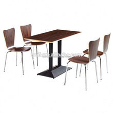 hot design wooden the chair dining table wood