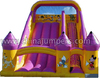 cartoon character inflatable slide, commercial durable cartoon slide